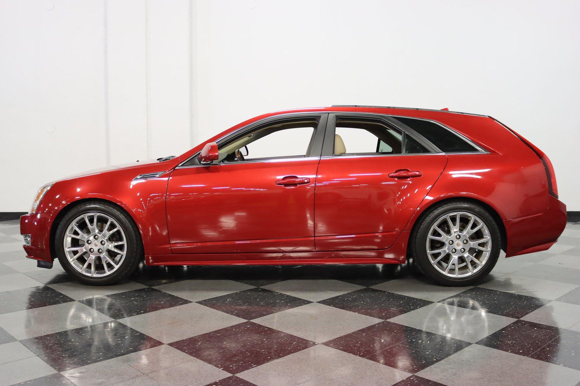 2010 cadillac cts sport wagon premium rwd