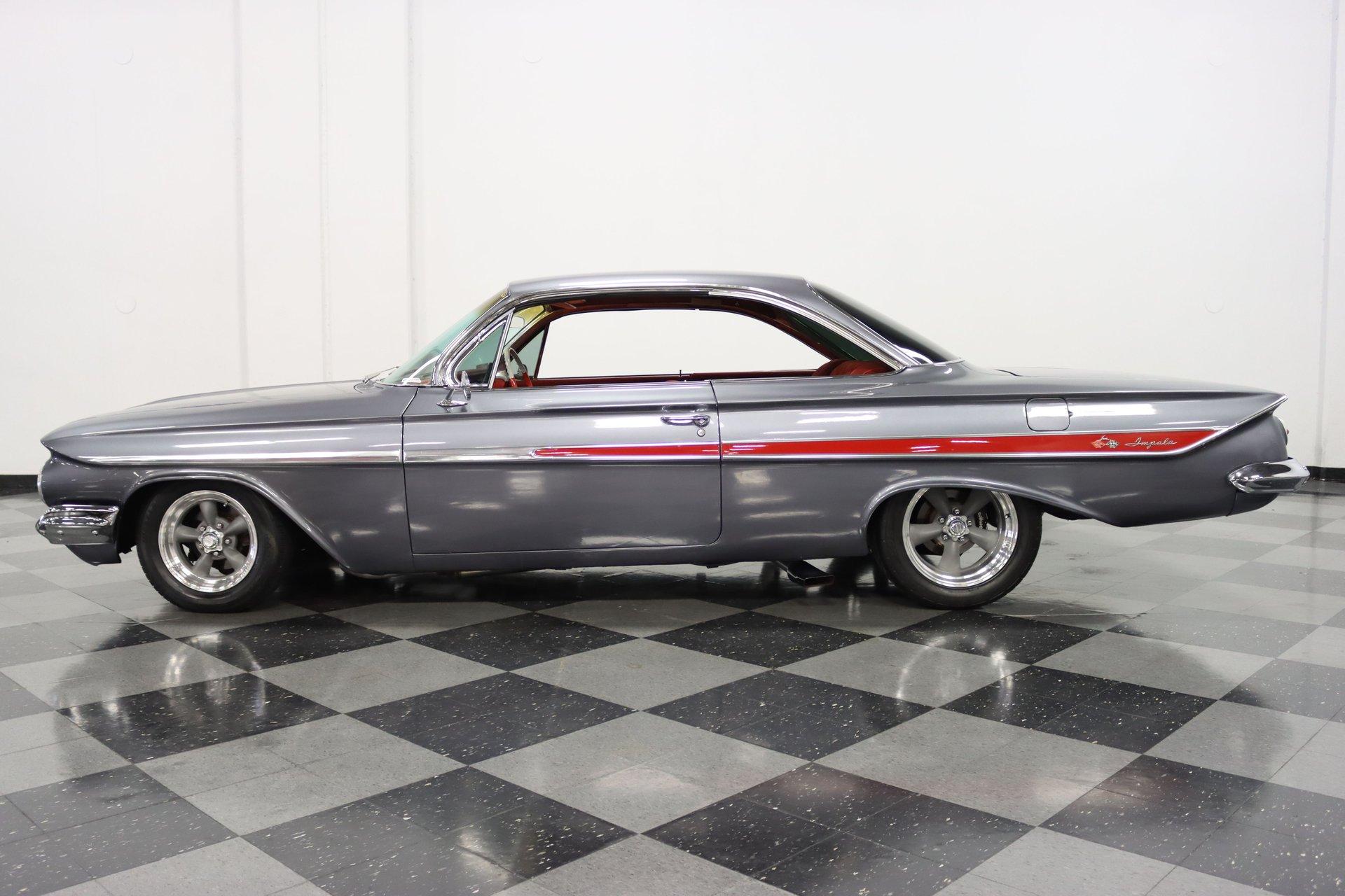 1961 chevrolet impala bubble top restomod