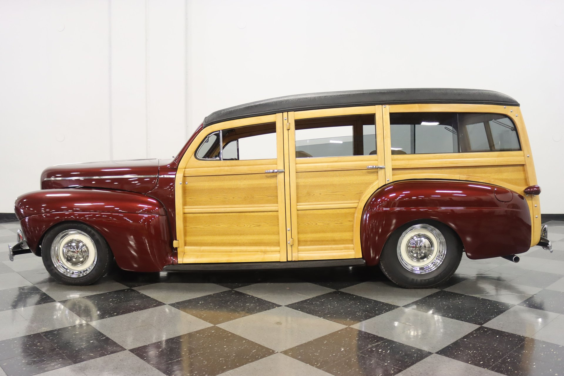 1941 ford super deluxe woodie restomod