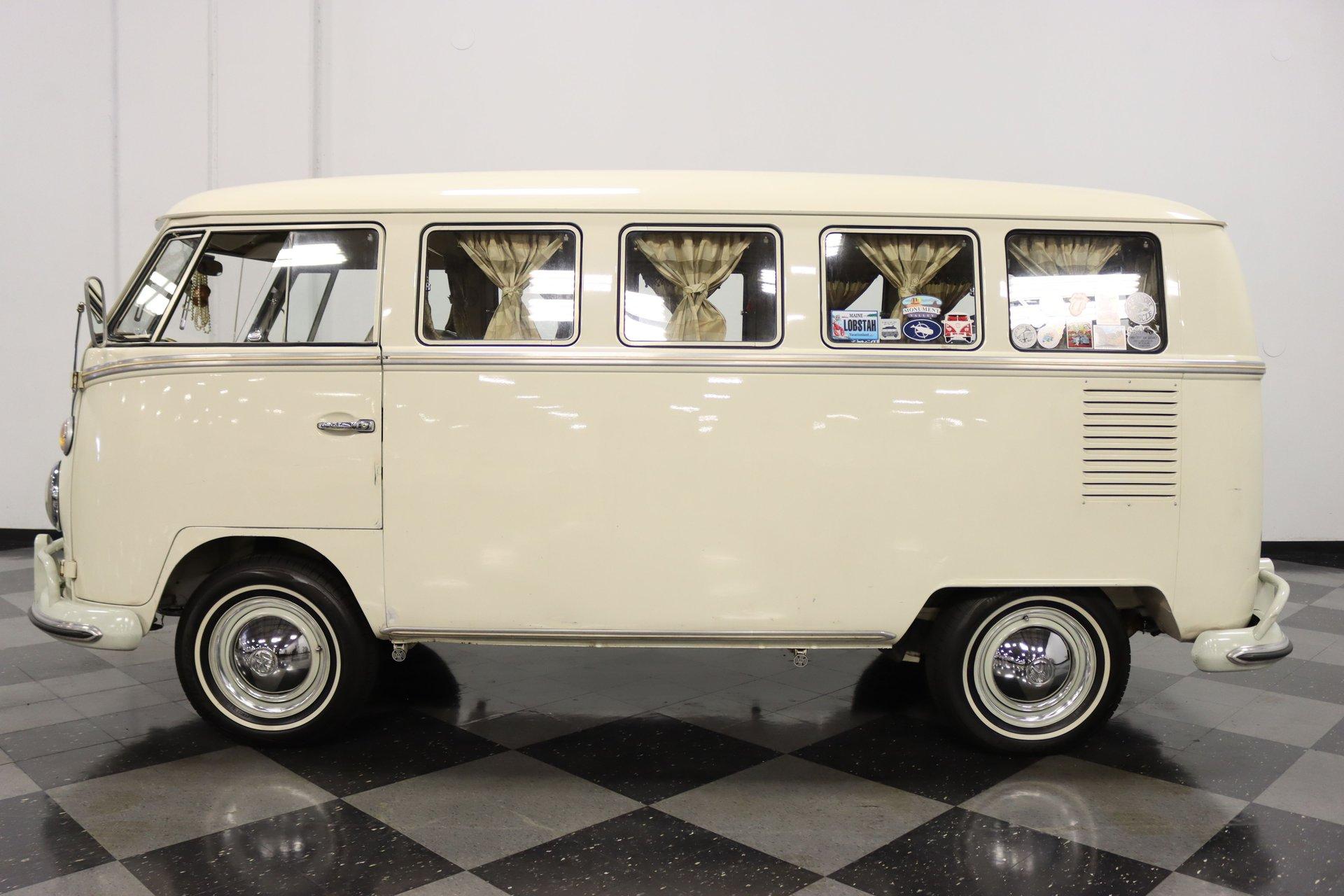 1966 volkswagen type 2 13 window deluxe bus