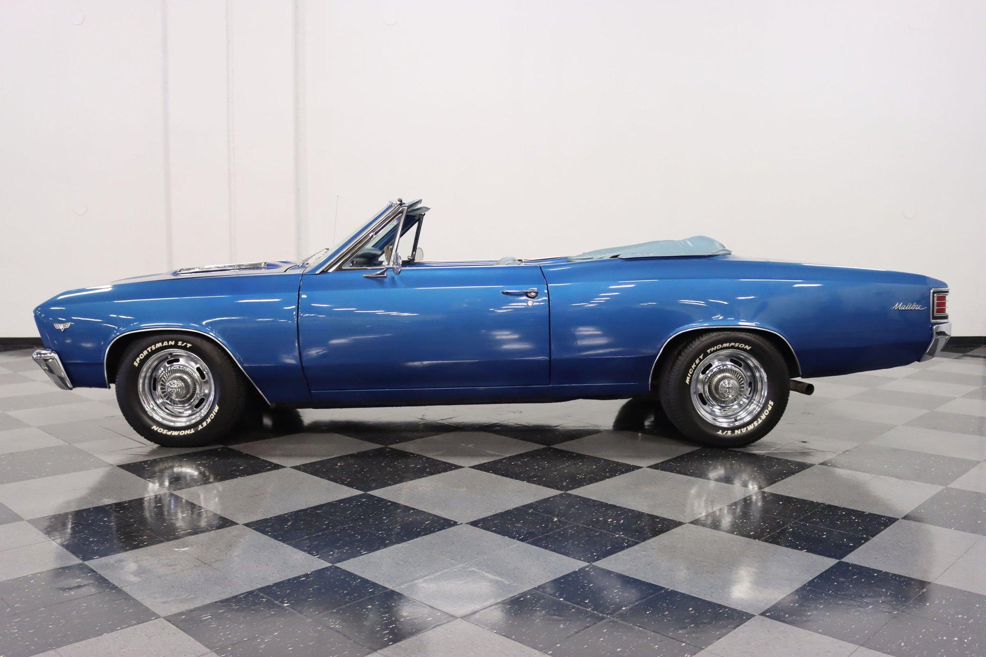 1967 chevrolet chevelle malibu convertible