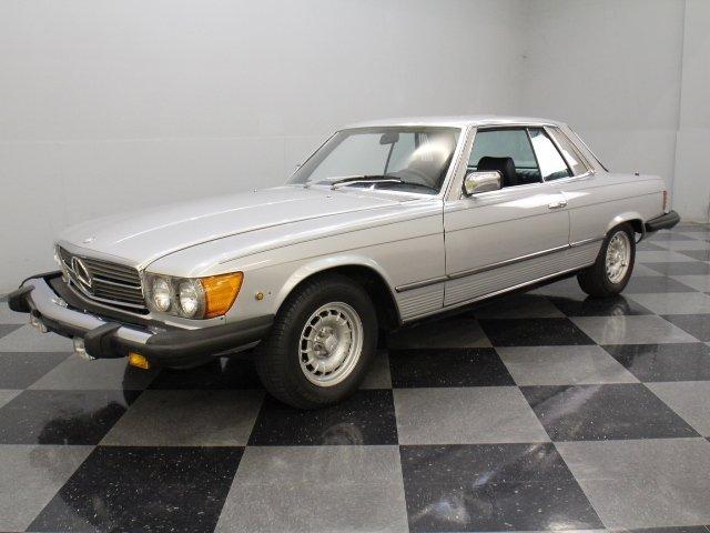For Sale: 1980 Mercedes-Benz 450SLC