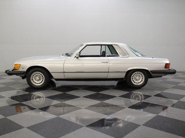 1980 mercedes benz 450slc