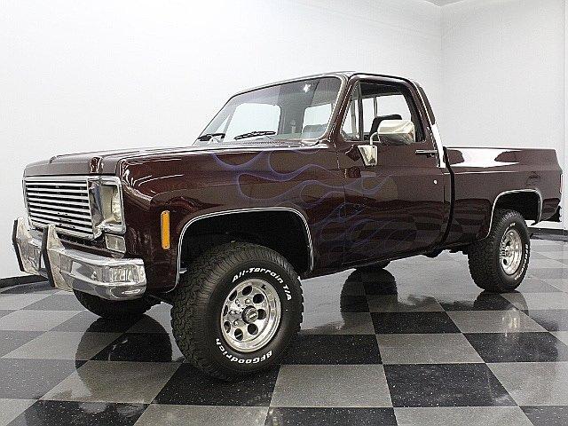 For Sale: 1976 Chevrolet K-10