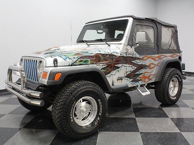 1997 jeep wrangler se yj