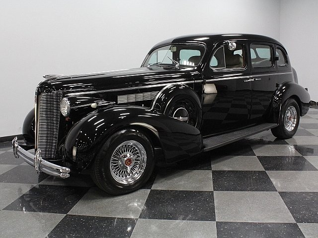 For Sale: 1937 Buick Sedan