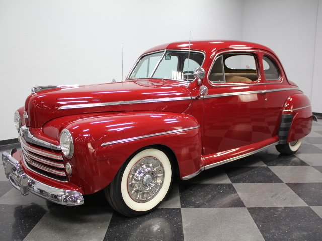 For Sale: 1946 Ford Super Deluxe