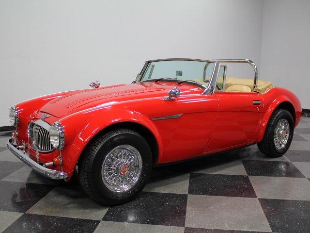 For Sale: 1962 Austin Healey 3000 Mark III