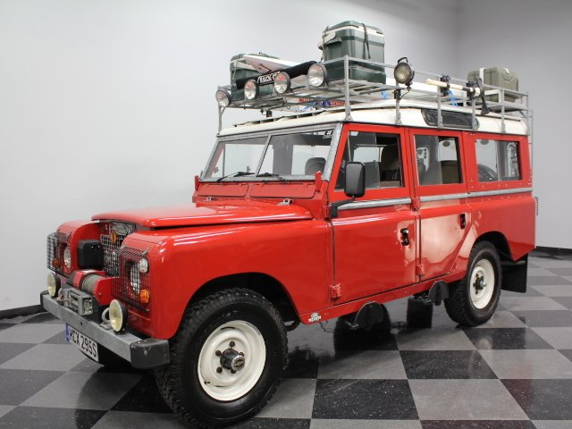 1978 land rover series iii