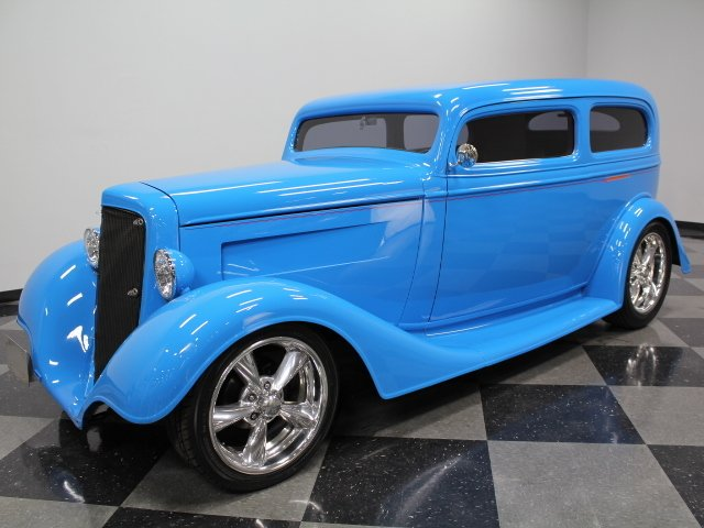For Sale: 1934 Chevrolet Sedan