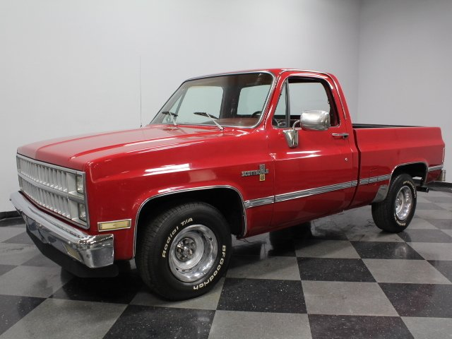 1982 Chevrolet Silverado Streetside Classics The Nation S