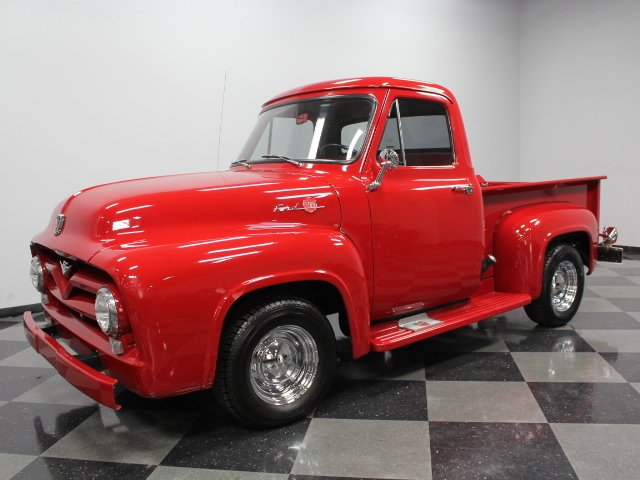 For Sale: 1955 Ford F-1