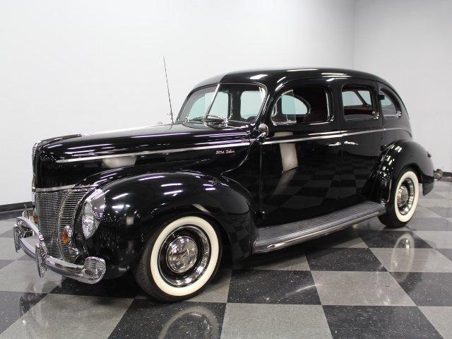1940 ford slant back sedan