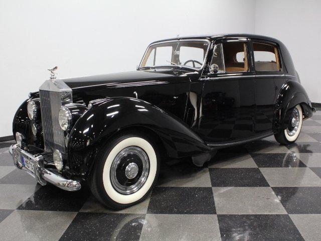 For Sale: 1952 Rolls-Royce Silver Dawn
