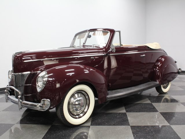 1940 ford cabriolet deluxe