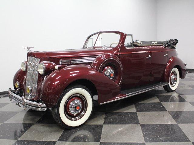 1938 packard eight convertible
