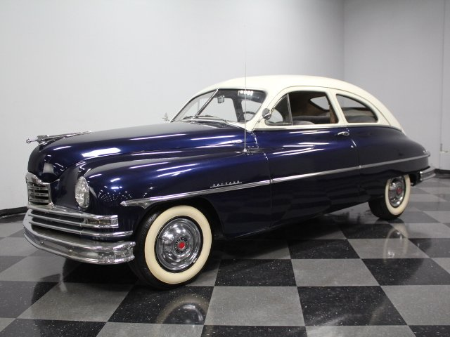 1950 packard coupe