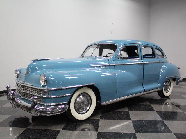 For Sale: 1947 Chrysler Windsor