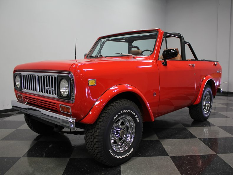 For Sale: 1975 International Scout II