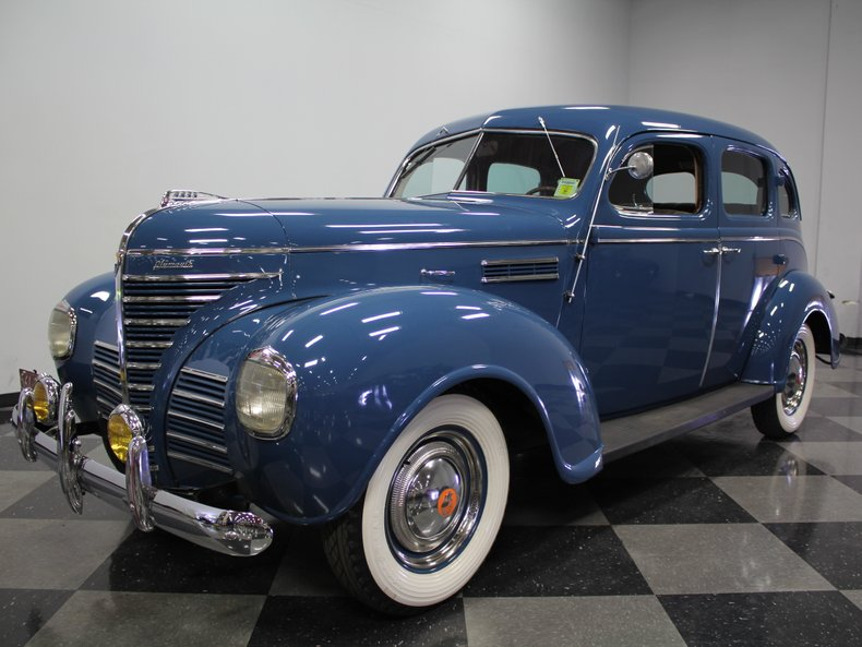 For Sale: 1939 Plymouth 4 DR Sedan