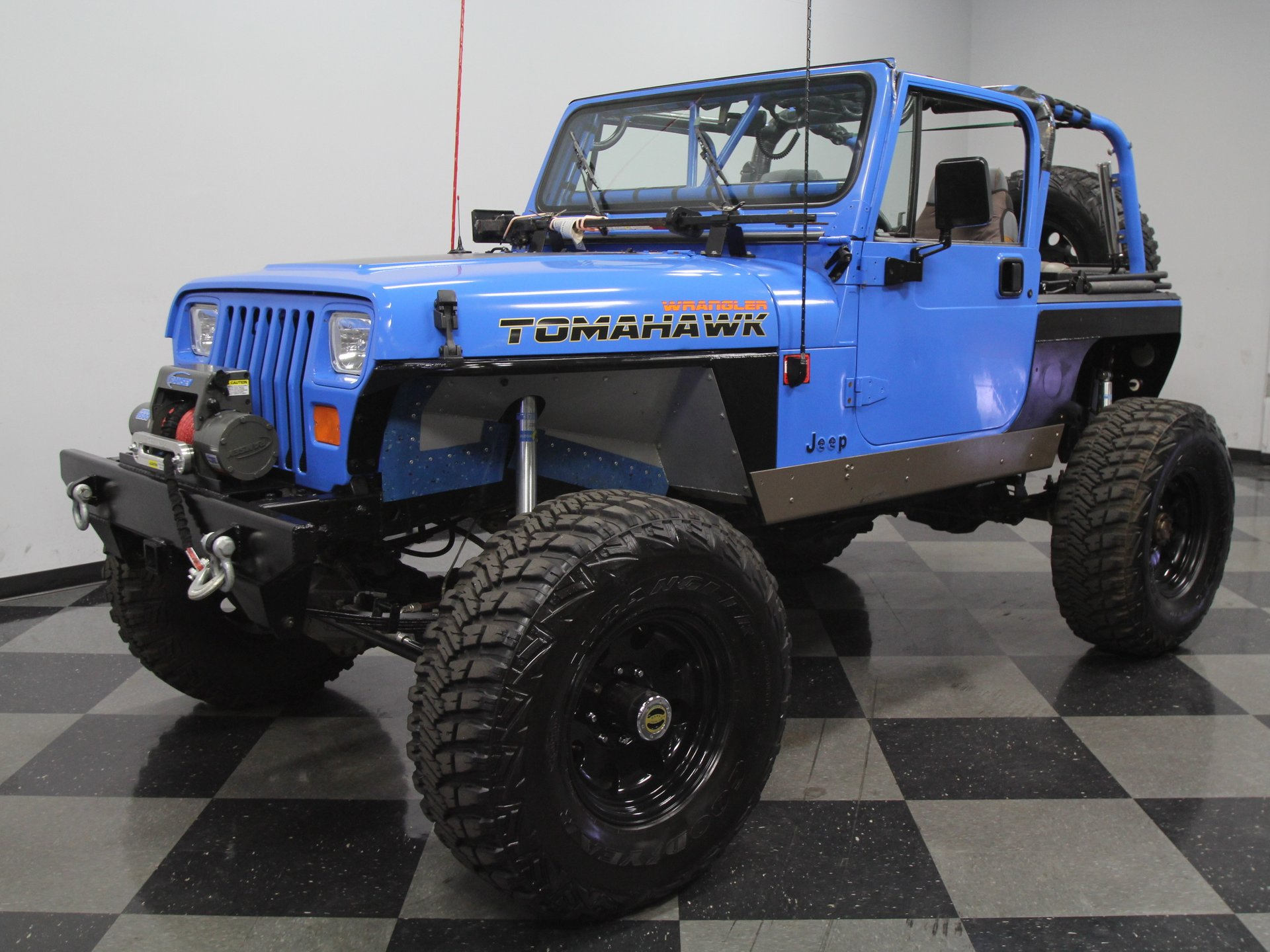 1989 jeep wrangler rock crawler