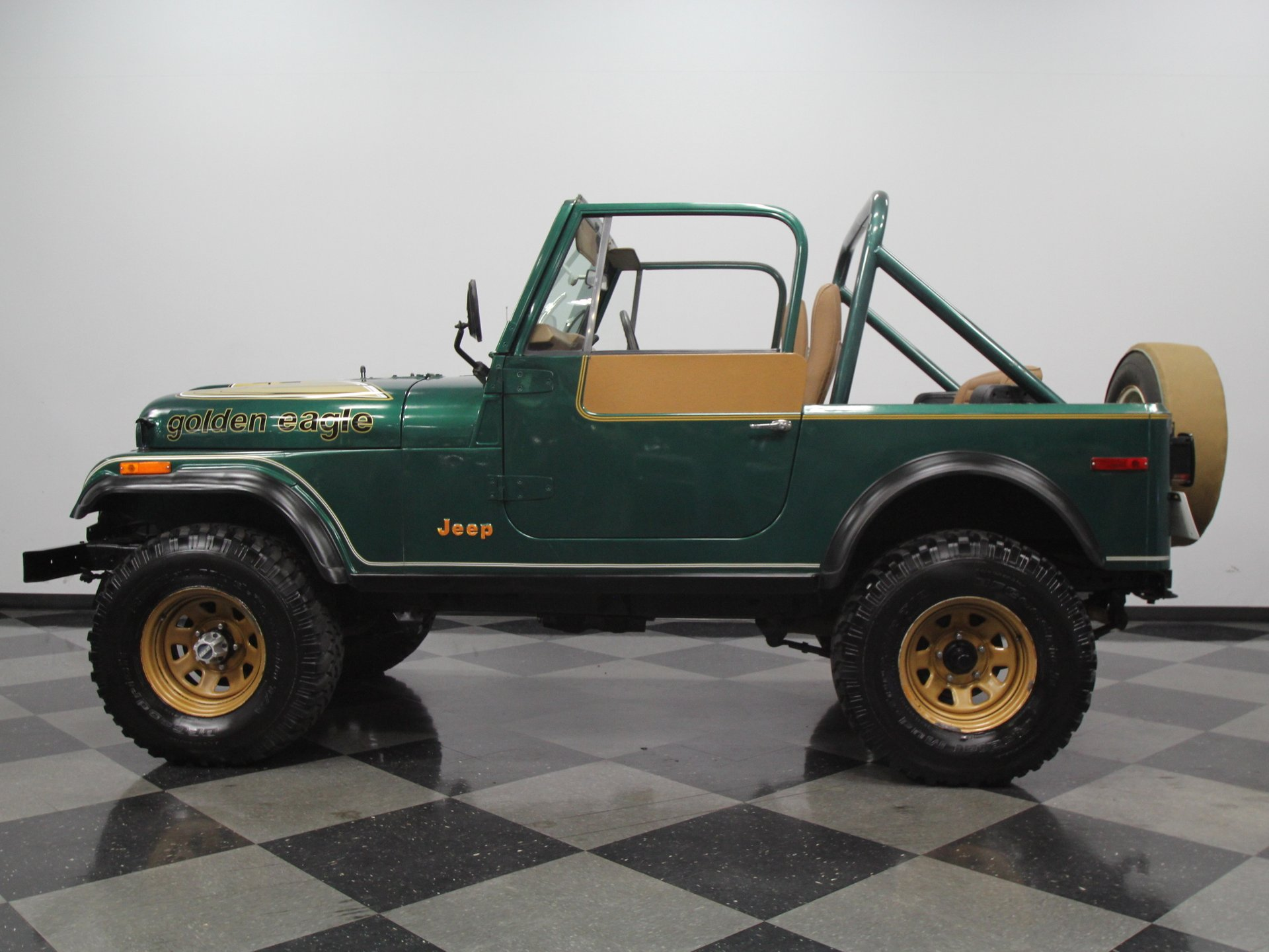 1980 jeep cj7 golden eagle