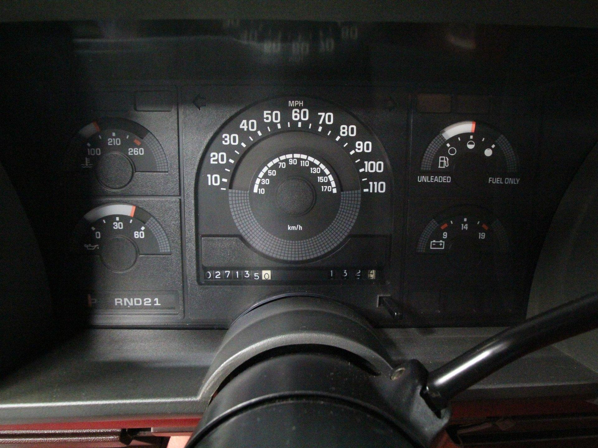 silverado ss speedometer