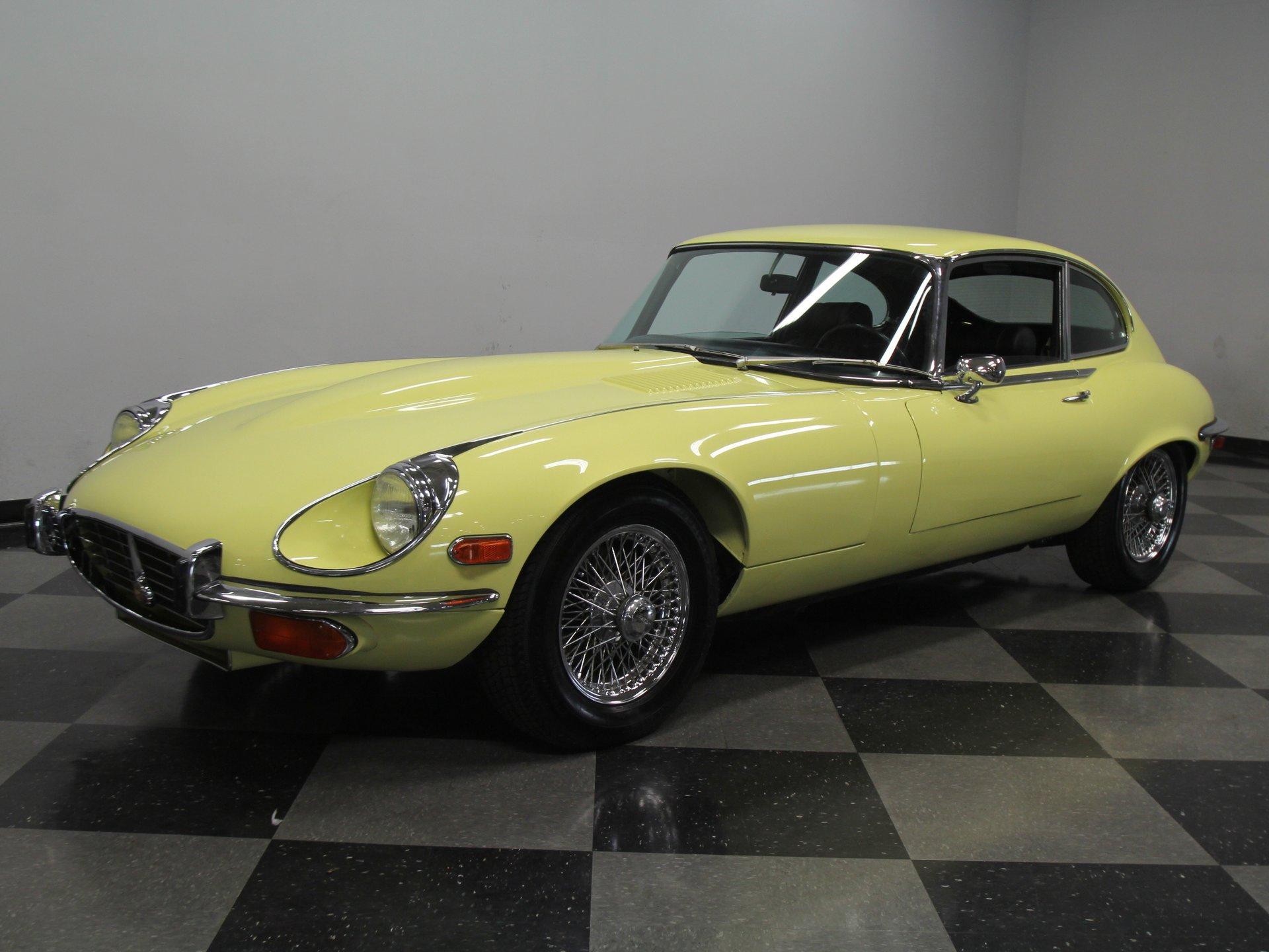 1972 jaguar e type 2 2 v12