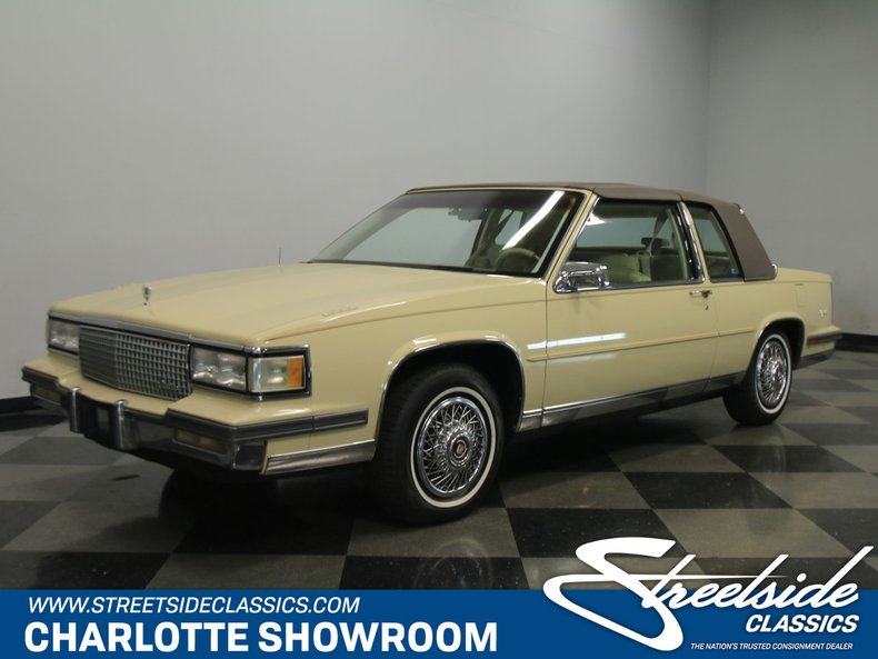 For Sale: 1987 Cadillac Coupe DeVille