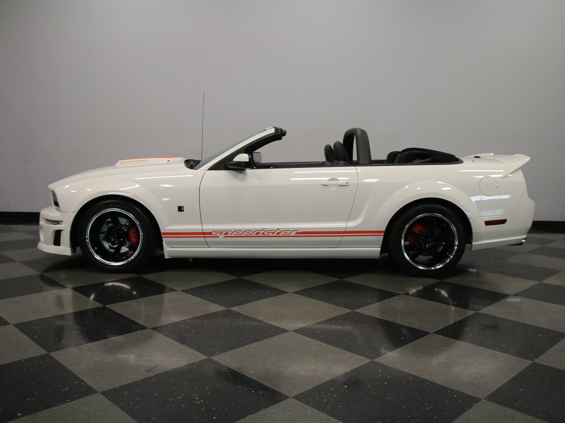 2008 ford mustang speedster
