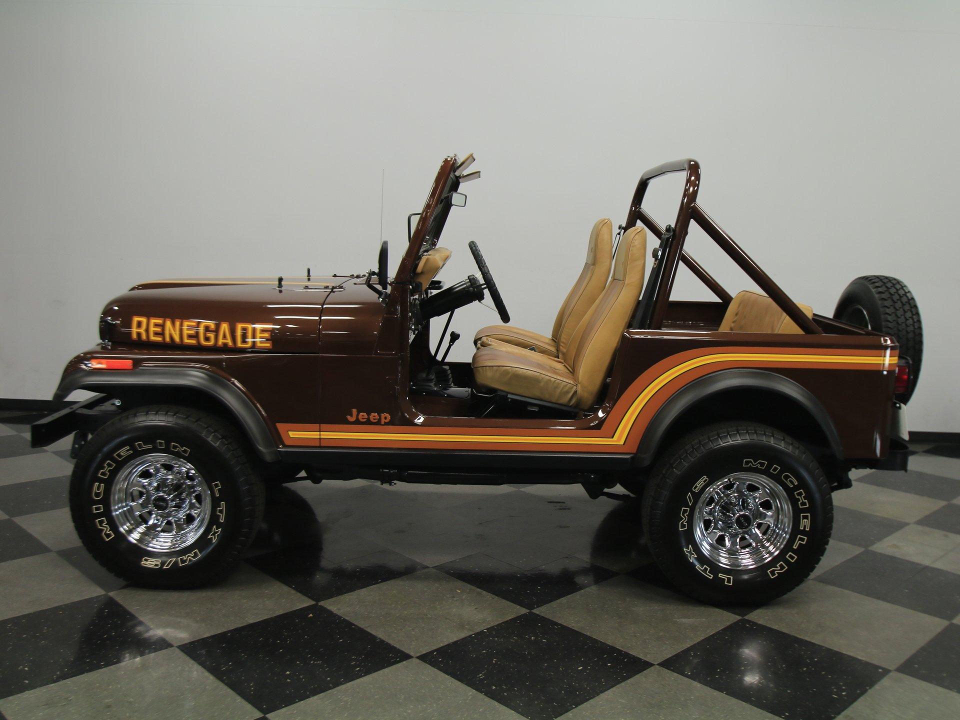 1986 jeep cj7 renegade