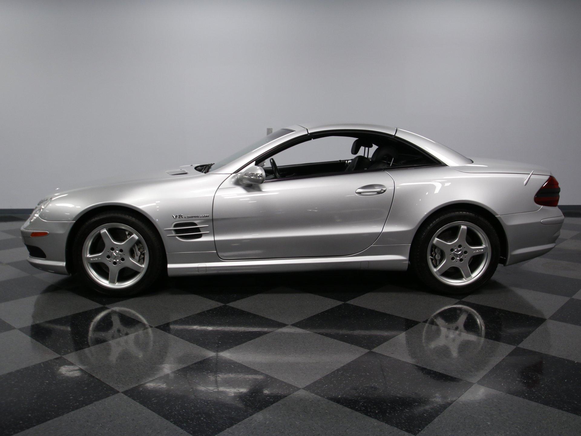 2003 mercedes benz sl55