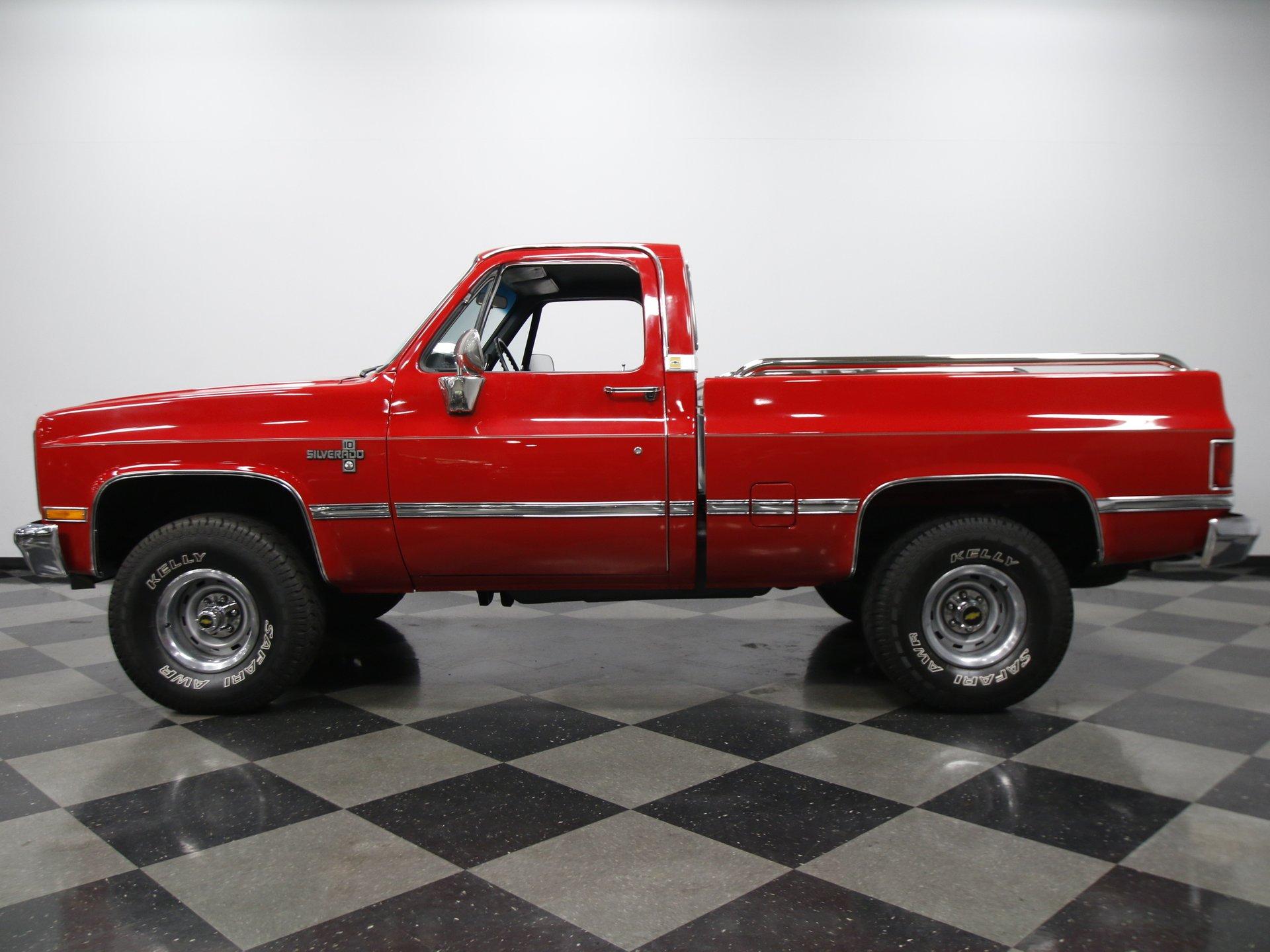 1986 chevrolet silverado 1500 4x4
