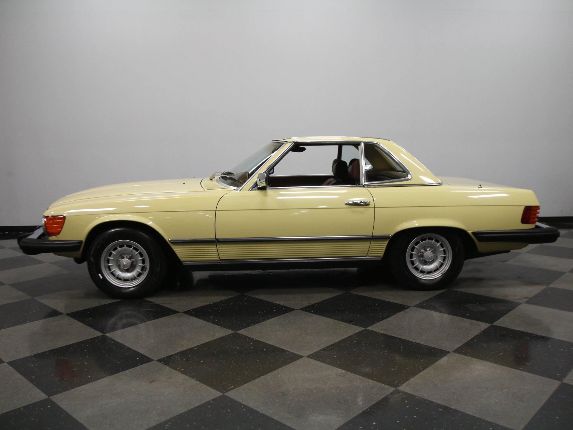 1978 mercedes benz 450sl