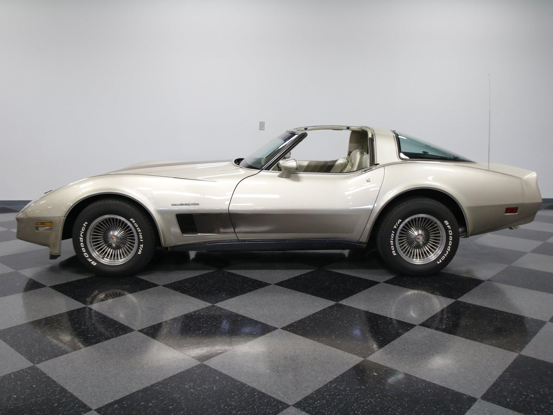 1982 chevrolet corvette collectors edition