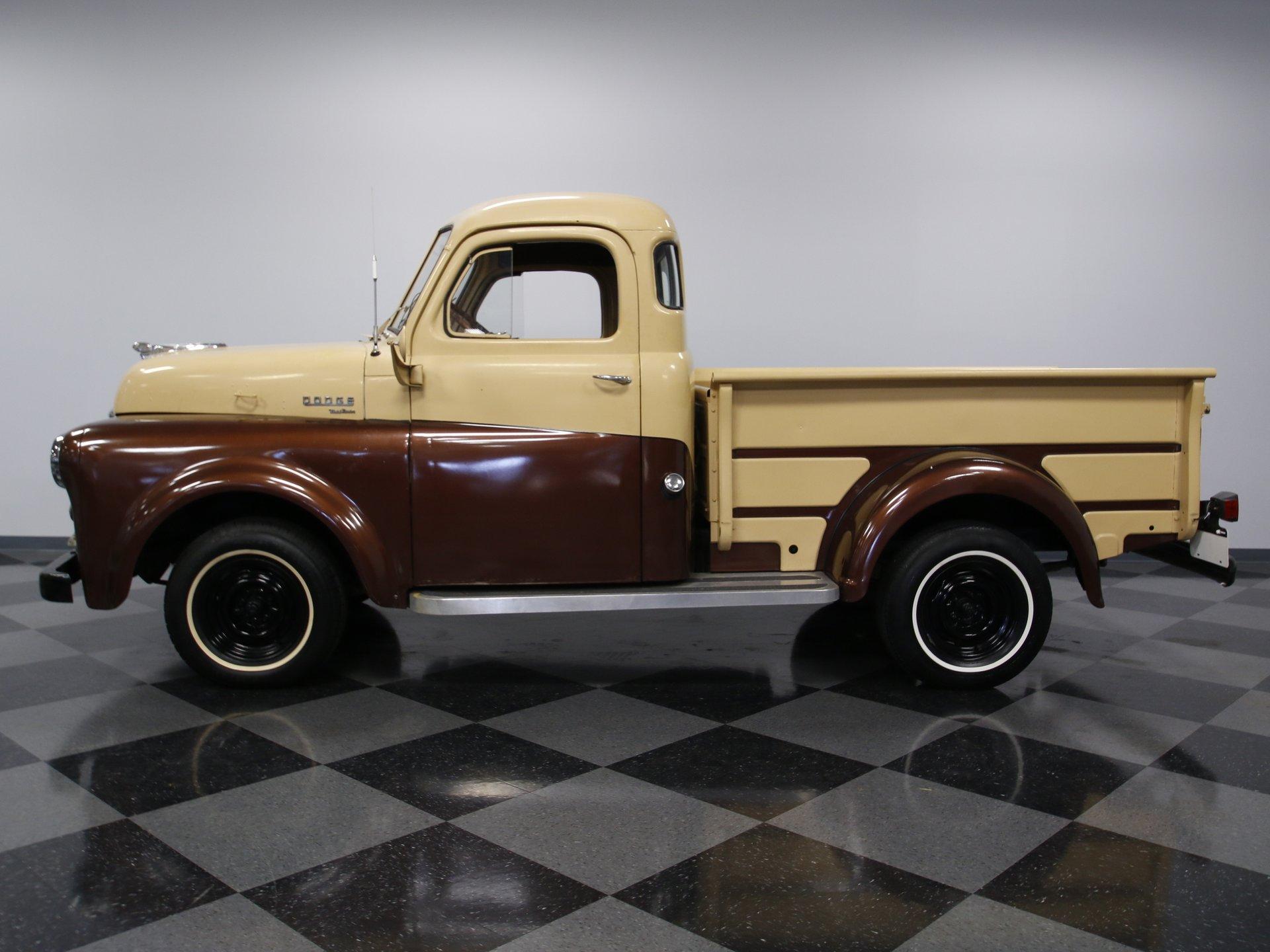 1950 dodge b 2 pilothouse pickup