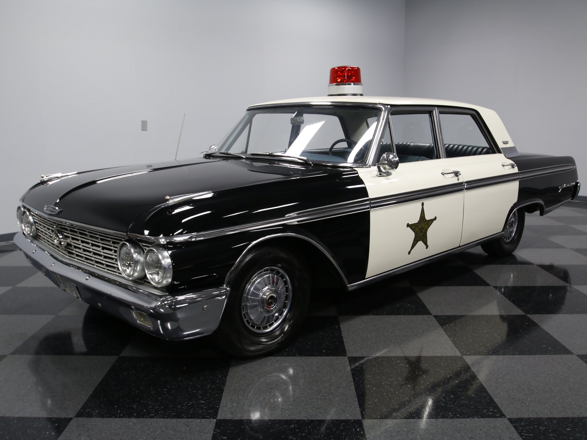 1962 ford galaxie 500 mayberry police car