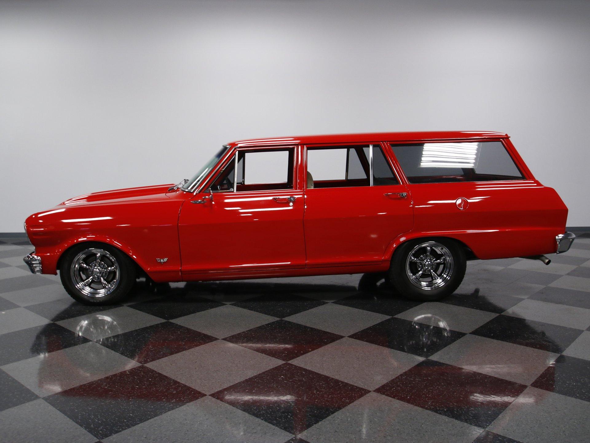 1963 chevrolet nova chevy ii restomod wagon