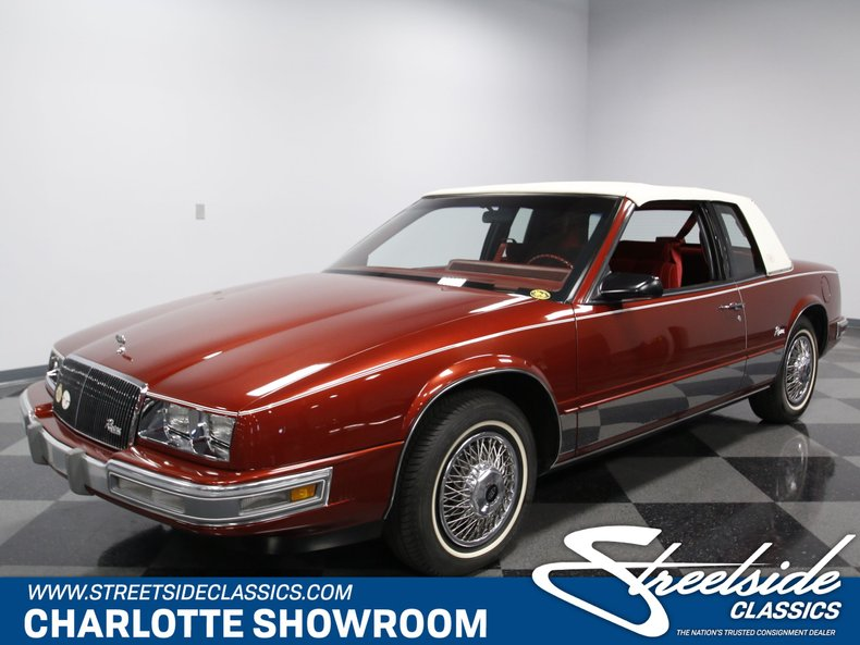 For Sale: 1986 Buick Riviera