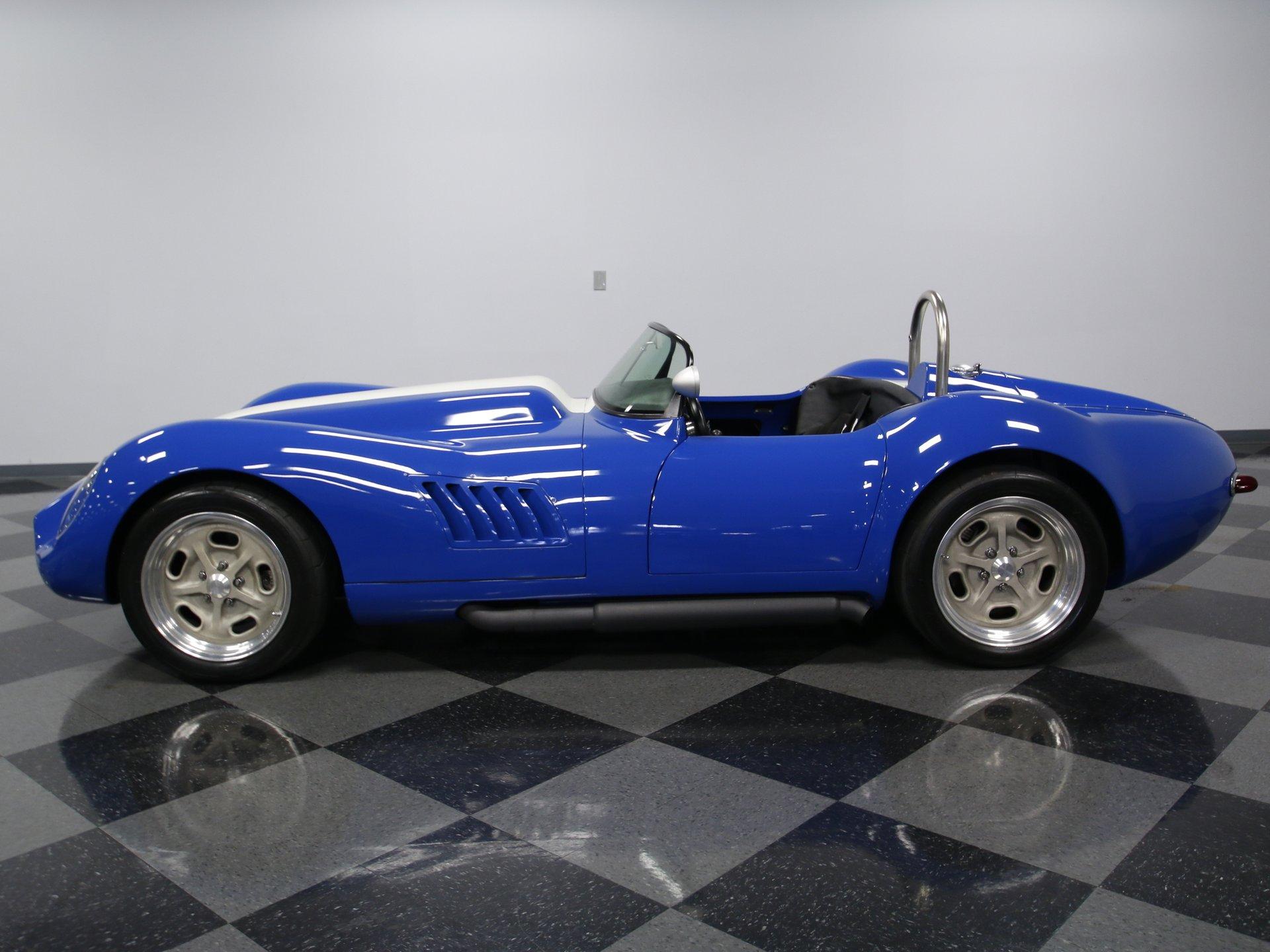 1958 chevrolet corvette lister replica lucra cars lc 470