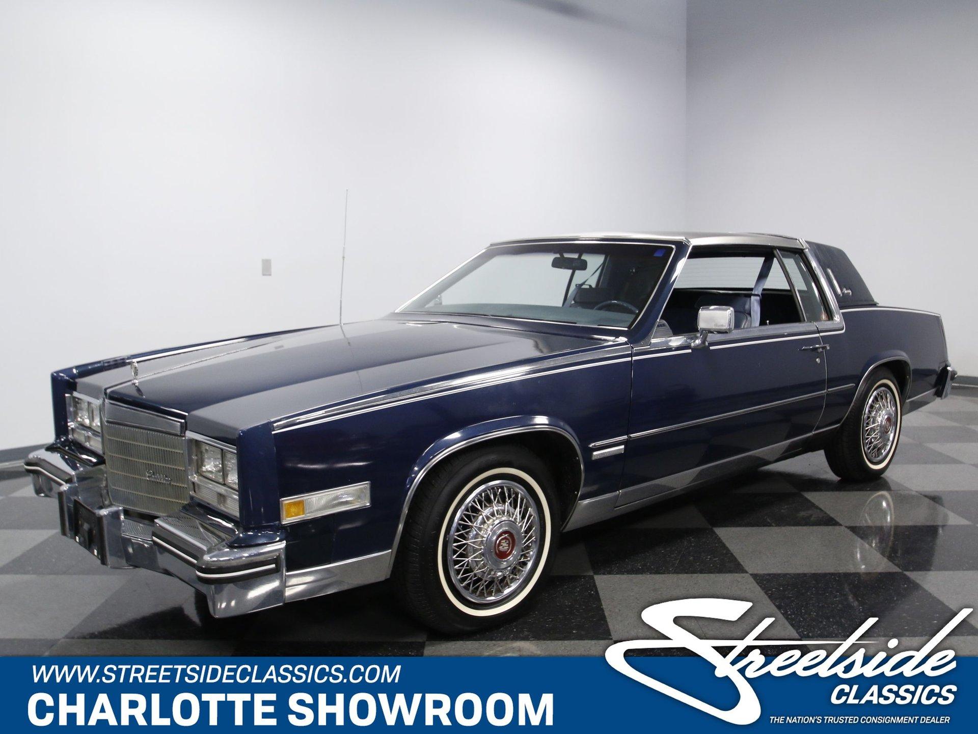1983 cadillac eldorado streetside classics the nation s trusted classic car consignment dealer 1983 cadillac eldorado streetside