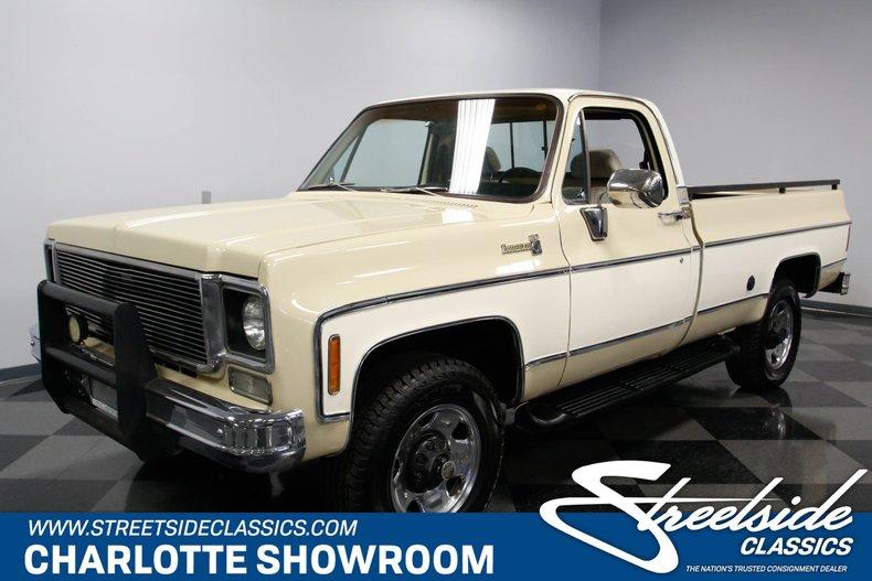 For Sale: 1977 Chevrolet K-20