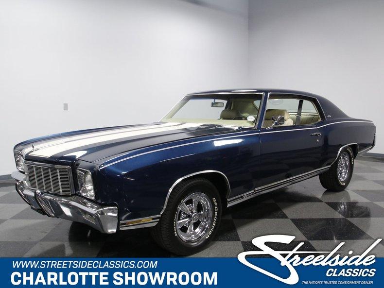 For Sale: 1971 Chevrolet Monte Carlo