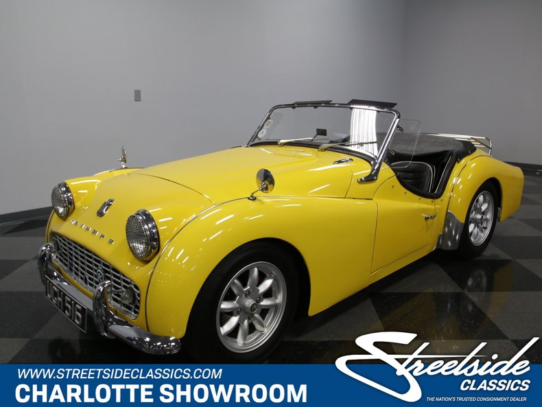 For Sale: 1959 Triumph TR3
