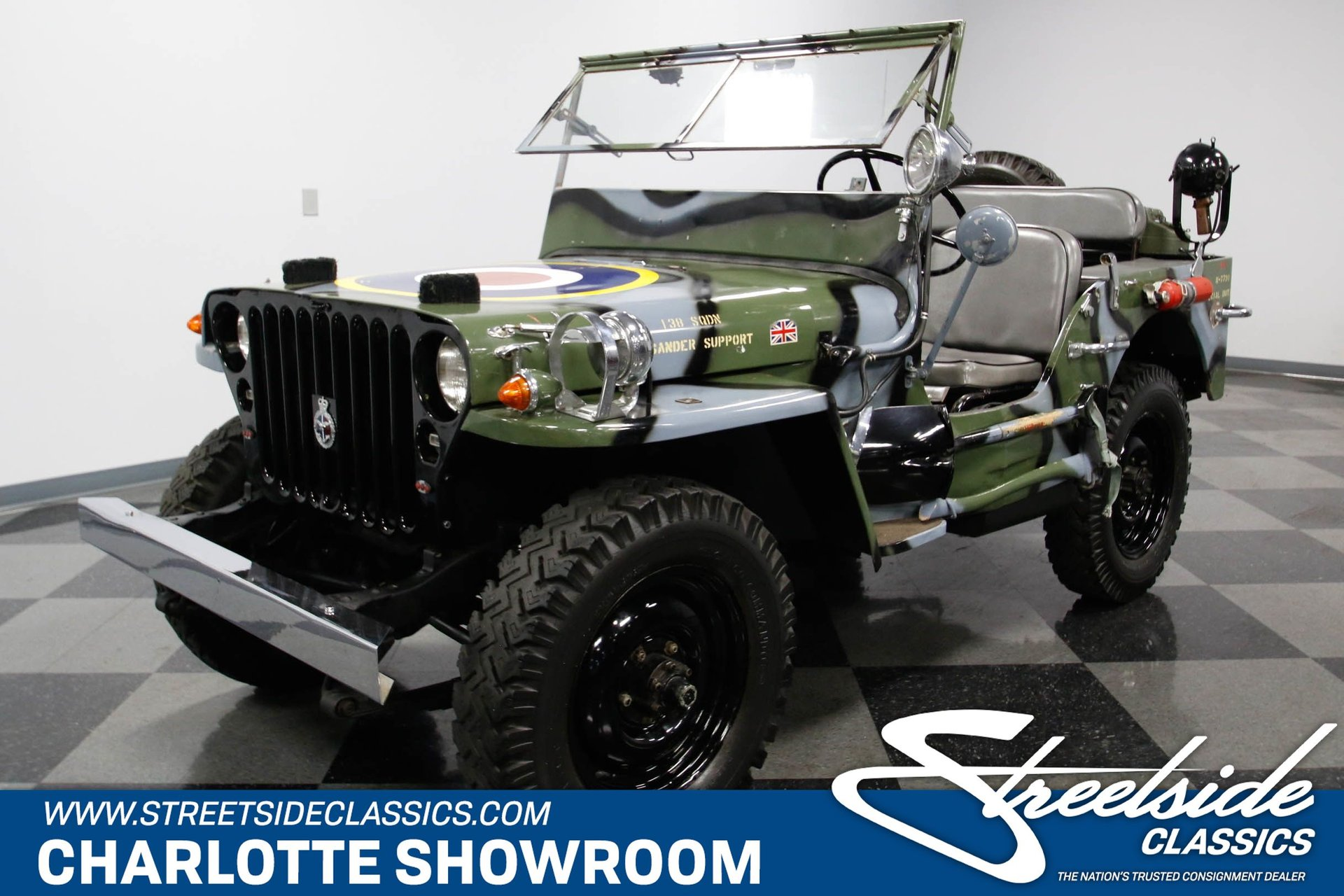 Willys Military Jeep Sale >> 1945 Willys Mb Military Jeep For Sale 50606 Mcg