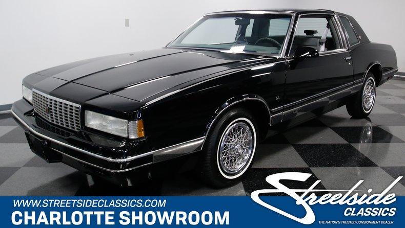 1986 chevrolet monte carlo ls for sale 97963 mcg