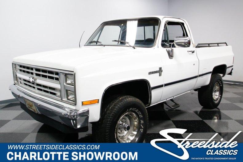 For Sale: 1985 Chevrolet K-10