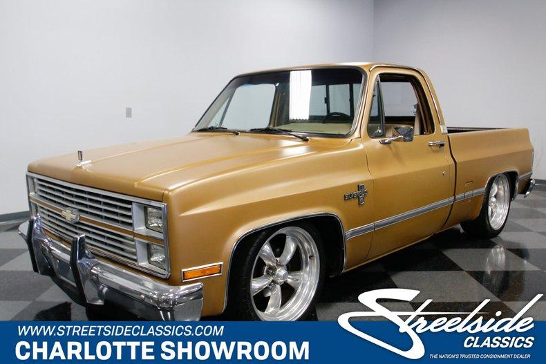 1984 Chevy Silverado >> 1984 Chevrolet C10 Silverado For Sale 61064 Mcg