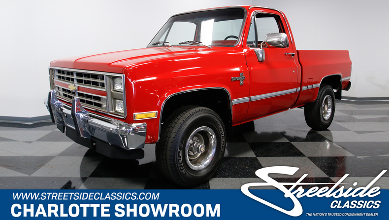 1985 chevrolet k 10 streetside classics the nation s trusted Jacked Up Chevy K10 for sale 1985 chevrolet k 10