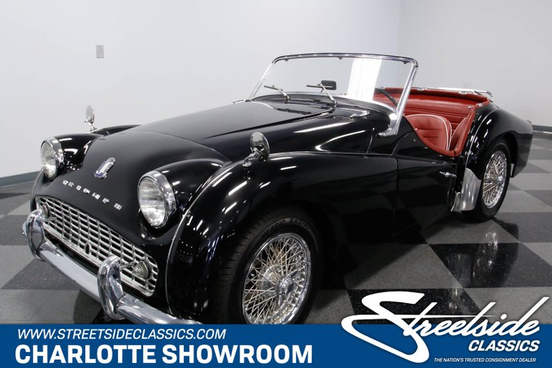 1961 Triumph Tr3 For Sale 63170 Mcg